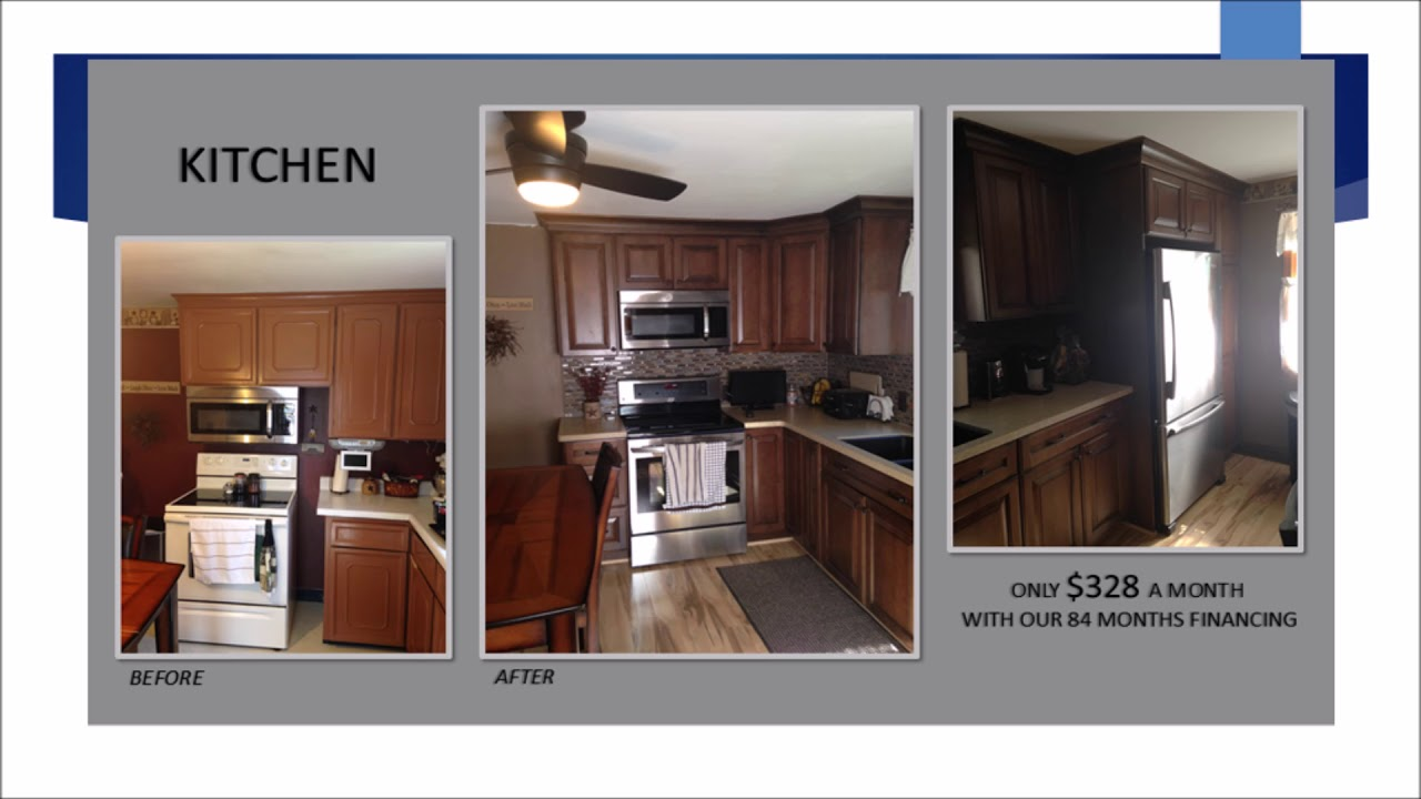 Lowe\'s Kitchen Remodeling w/ Before & Afters - YouTube