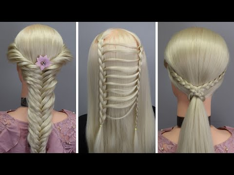 top-10-amazing-hairstyles-♥️-hairstyles-tutorials-♥️-easy-hairstyles-with-hair-tools