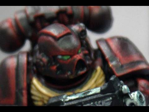 How to paint Angels Vermillion Space Marine by Lester Bursley