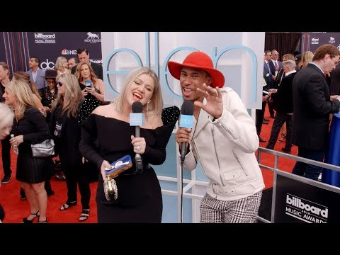 Kalen Talks at the 2018 Billboard Music Awards