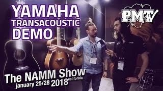 NAMM 2018   Yamaha Transacoustic Demo & Purple Rain Cover!