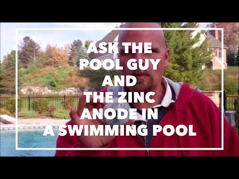 Ask The Pool Guy And The Zinc Anode In A Swimming Pool {Product Recommendations}