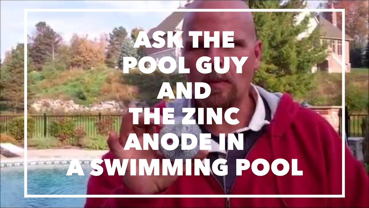 Swimming Pool Anodes : Ask the pool guy and zinc anode in a swimming