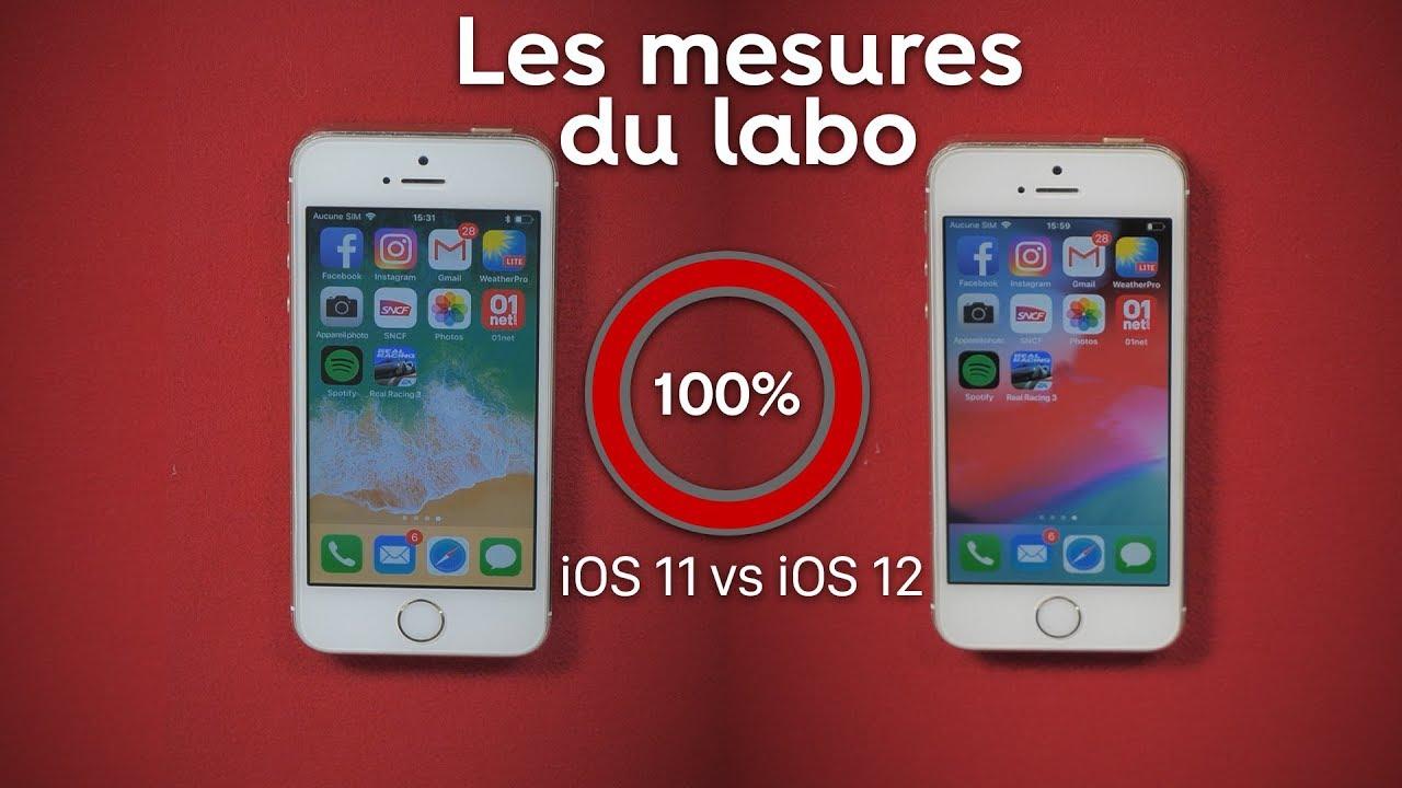 iOS 12 accélère-t-il vraiment les anciens iPhone ?
