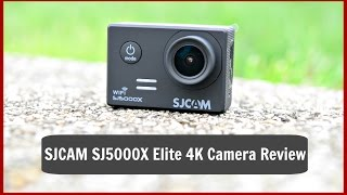 SJCAM SJ5000X Elite 4K Camera Review-The GoPro Killer