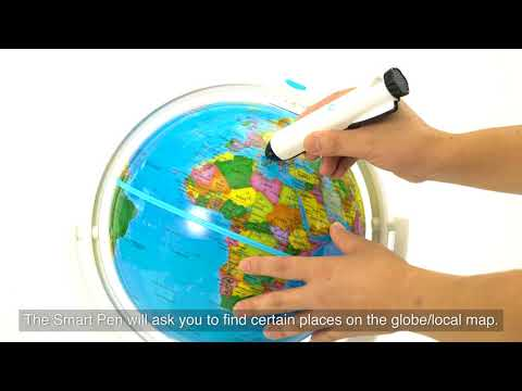 Oregon Scientific | Smart Globe | SG338R unbox video