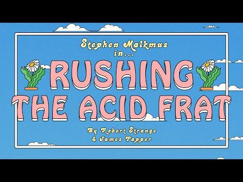 """Stephen Malkmus - """"Rushing the Acid Frat"""" (Official Music Video)"""