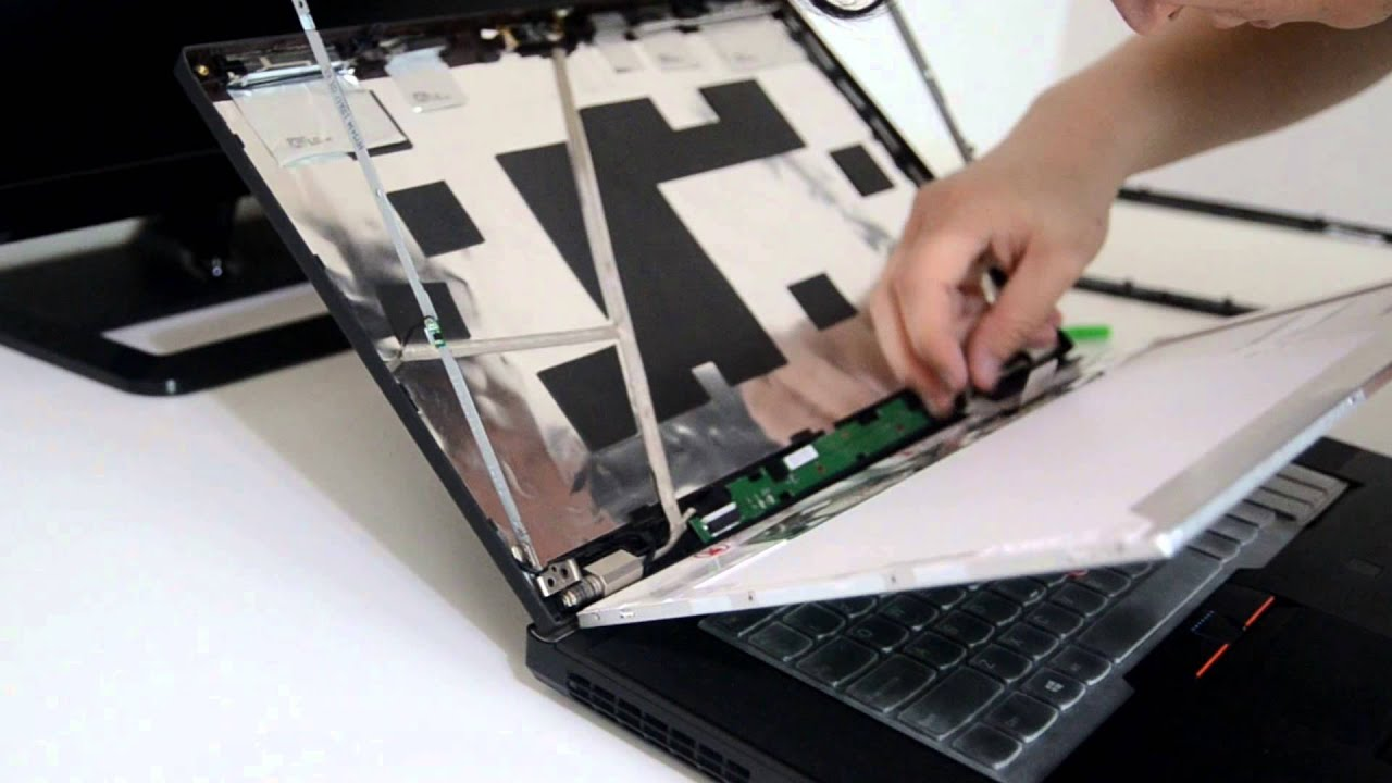 Laptop screen replacement / How to replace laptop screen [Lenovo Thinkpad  T530]