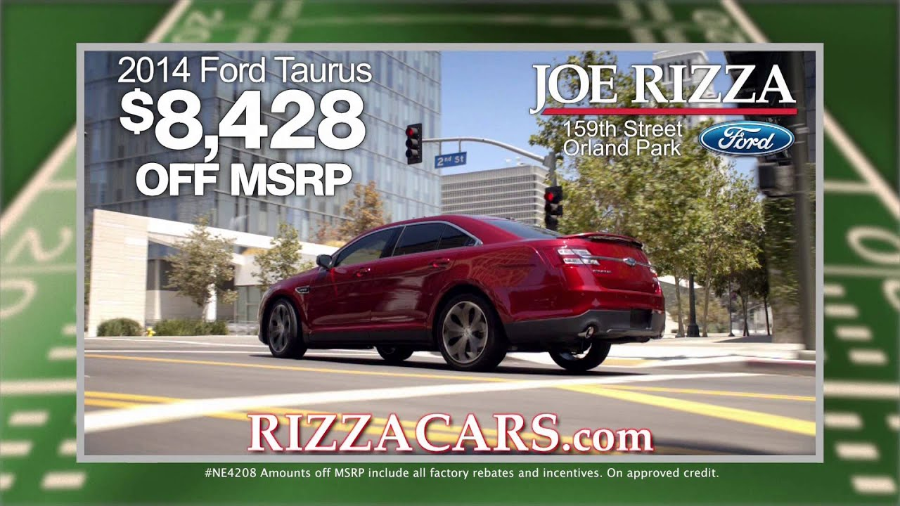 Joe Rizza Ford Orland Park Great American Tailgate October 2014