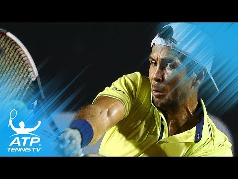 Fernando Verdasco Rips a Mammoth Forehand Past Thiem | Rio Open 2018