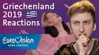 "Katerine Duska - ""Better Love"" - Griechenland | Reactions | Eurovision Song Contest"
