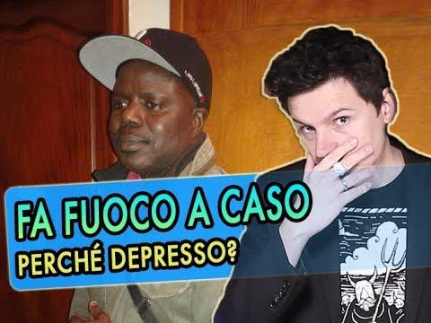 """Fa fuoco perché """"depresso""""? Due parole sui fatti di Firenze"""