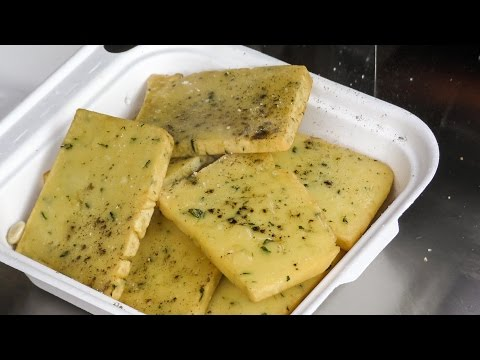 "Food from Sicily, Italy, Tasted in London. Fried ""Panelle"" and ""Crocche"". Street Food of Brick Lane"