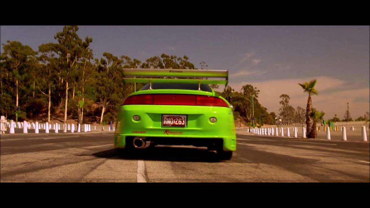 021cdd519cdd Fast   Furious (2001) Brian Opening Scene (1995 Mitsubishi Eclipse)  Full  HD 1080p  - YouTube