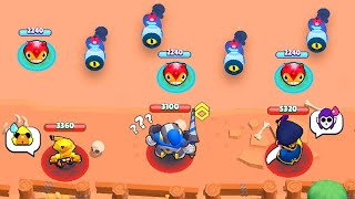 100% STRESS in Showdown!!! 🔥 Brawl Stars Funny Moments, Wins & Fails