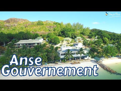 "Strand ""Anse Gouvernement"", Praslin (Seychellen)"