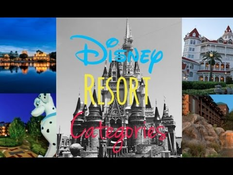 Walt Disney World Resort Categories!