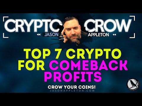 Top 7 Crypto Coins For Big Comeback Profits