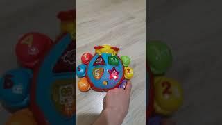Обзор игрушка каталка говорящий жук. Умка