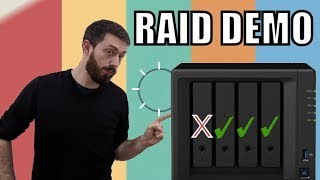Synology NAS RAID Recovery Demonstration