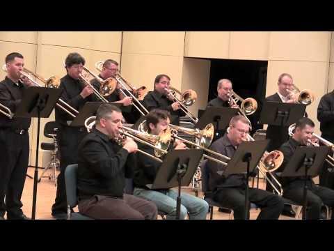 Washington Trombone Ensemble performs Song for Japan