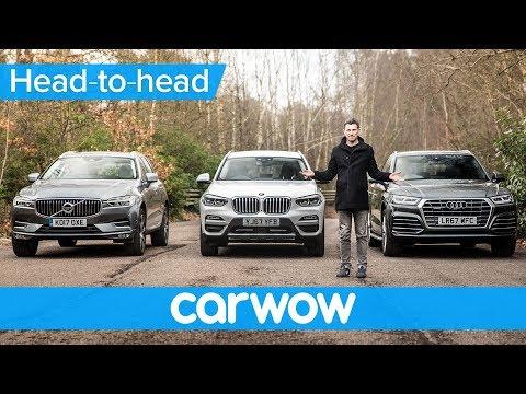 BMW X3 vs Audi Q5 vs Volvo XC60 2018 - which is best? | Head-to-Head
