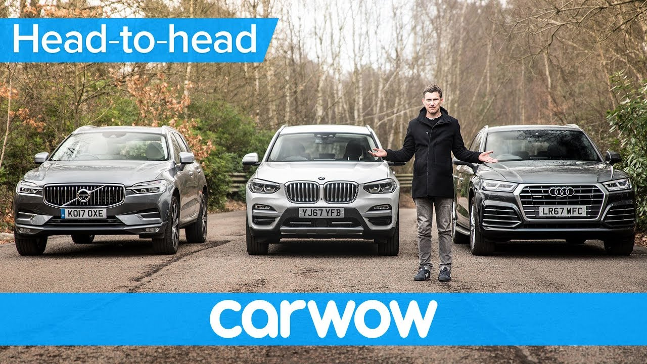 Bmw X3 Vs Audi Q5 Volvo Xc60 2018 Which Is Best Head To