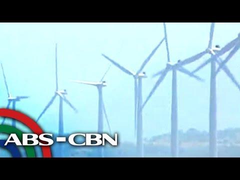 Higanteng wind turbines, meron rin sa Rizal at Guimaras