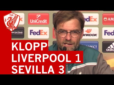 Jurgen Klopp's Post-Match Press Conference - UEL Final - Liverpool 1-3 Sevilla