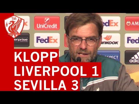 Jurgen Klopp's Post-Match Press Conference - UEL Final - Liverpool 1-3 Sevilla