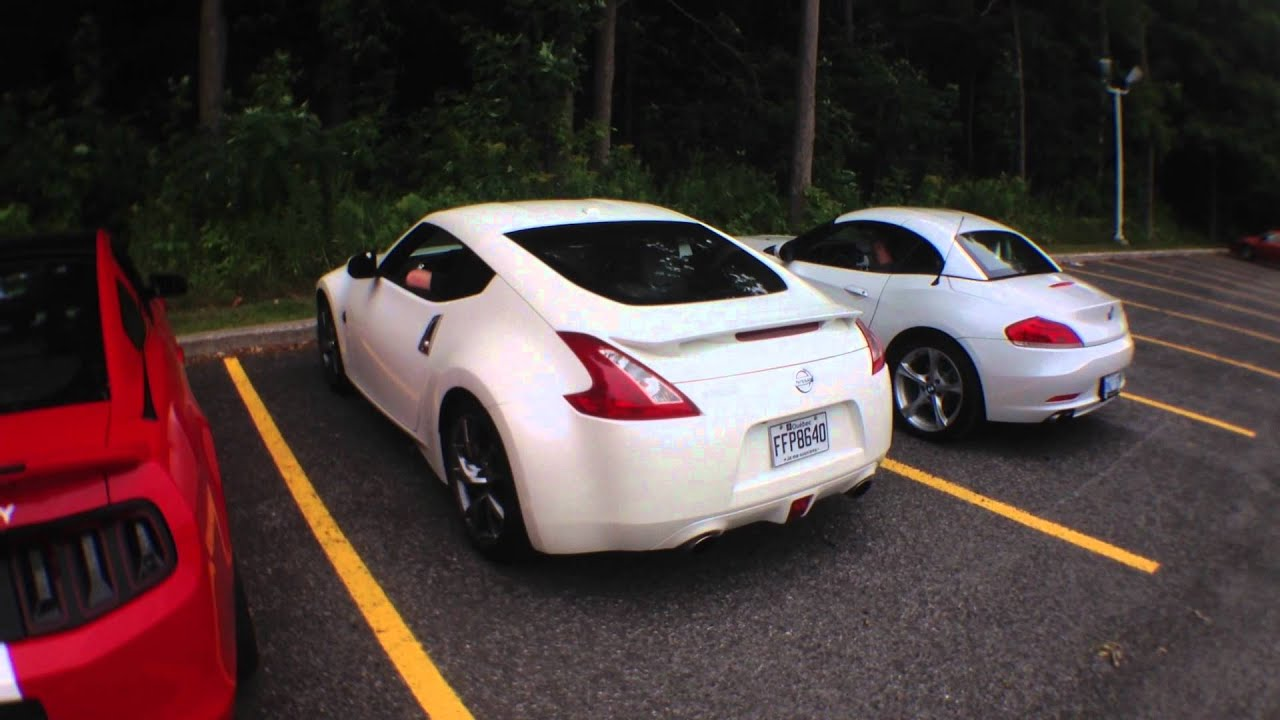 Revv Match Bmw Z4 Vs Nissan 370z Vs Ford Shelby Gt500