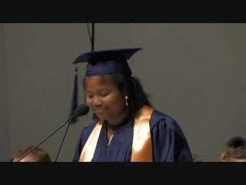 Imani Tate Class Valedictorian Washington Lee High School