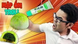 Troll Anh Chuối Bằng Bánh Mochi nhân Wasabi và CÁI KẾT ĐẮNG!!