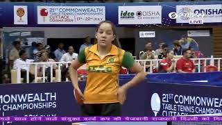 LIVE: 21st Commonwealth Table Tennis Championship 2019 | DAY 2 | | LIVE on DD Sports