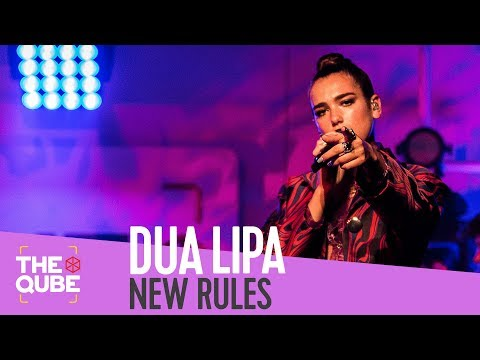 Dua Lipa - 'New Rules' (live in the Qube)