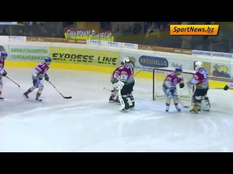 Italienpokal, Halbfinale: Pustertal - Asiago, 12.12.2015