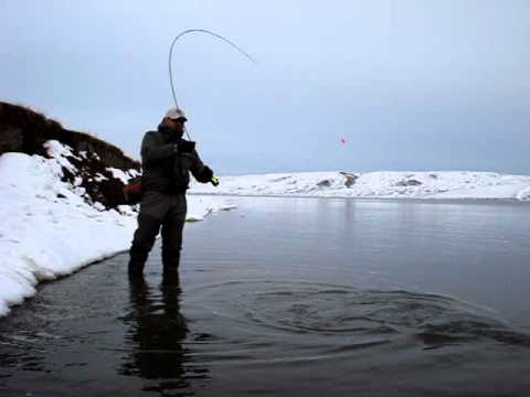 Fly Fishing The Blackfeet Indian Reservation 2011 (Mission Lake) # 3