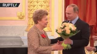 بوتين يهنئ أرملة يلتسين بعيد ميلادها الـ85