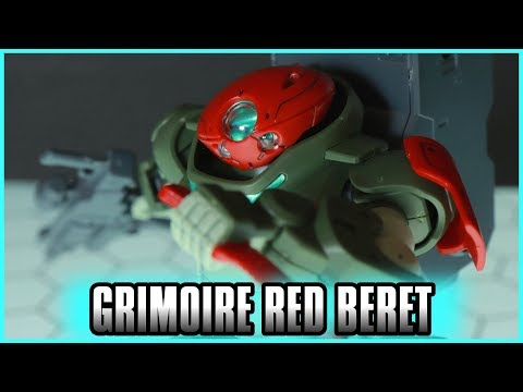 HGBD Grimoire Red Beret Review - GUNDAM BUILD DIVERS -