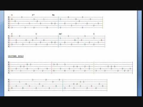 Landslide Live Version Guitar Lesson Tab With Video Audio Youtube