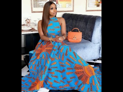 FABULOUS AFRICAN PRINT MAXI DRESSES #AFRICAN WOMEN CLOTHING #FASHION GALLERY