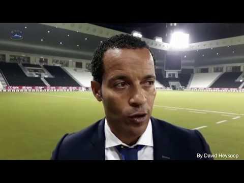 Interview with Coach Remko Bicentini Match:  CURACAO 2 - QATAR 1 date: 10 10 20