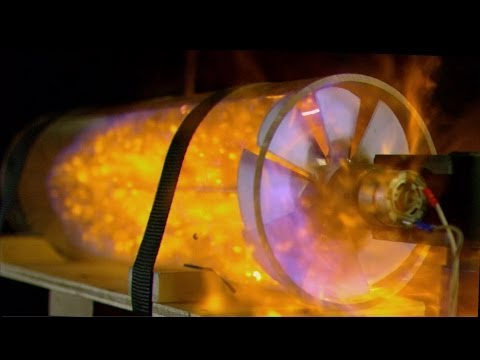 How does a gas turbine work? - Bang Goes the Theory - BBC One