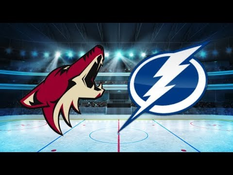 Arizona Coyotes vs Tampa Bay Lightning (4-1) – Mar. 26, 2018   Game Highlights   NHL 2018