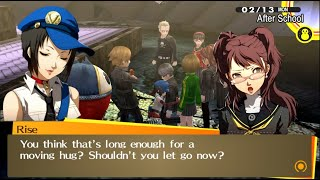 Rise is jealous with Marie - Persona 4 Golden PC