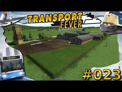 Let´s Play ►Transport Fever Staffel 5 ► 023 ►Das MEGA Zug Depot!► Deutsch/German