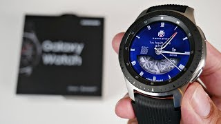 Samsung Galaxy Watch Unboxing + Hands-on Overview + More