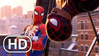 Spider-Man Miles Morales All Cutscenes Full Movie (2020) Marvel Superhero HD
