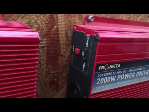 Cheap & easy DIY home solar power system - cost, parts, wher