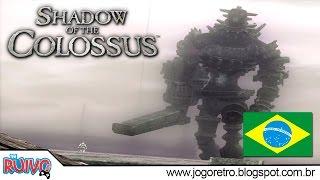 Shadow of the Colossus DUBLADO em português no Playstation 2
